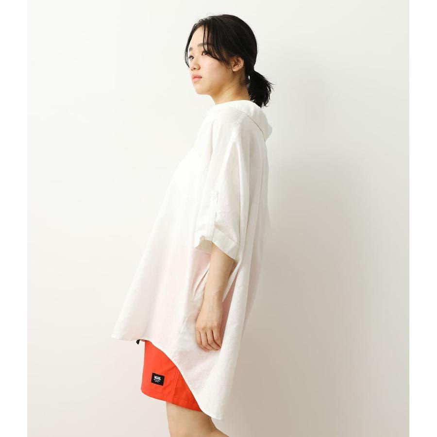 ロールアップリネンシャツ 3