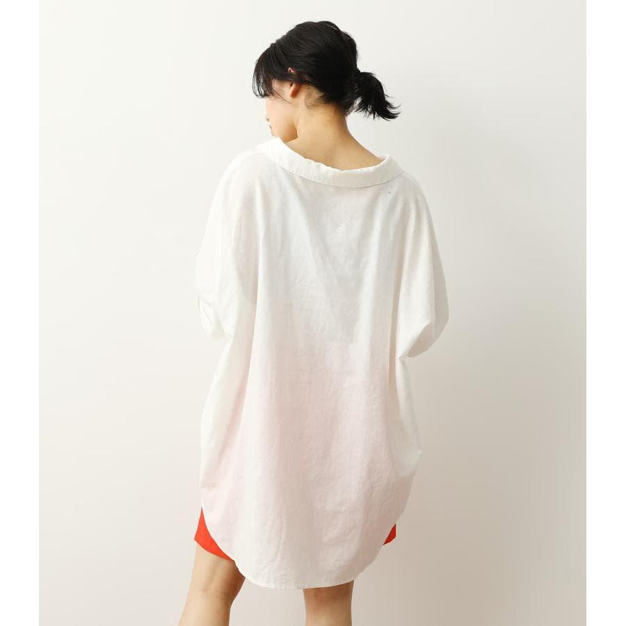ロールアップリネンシャツ 4