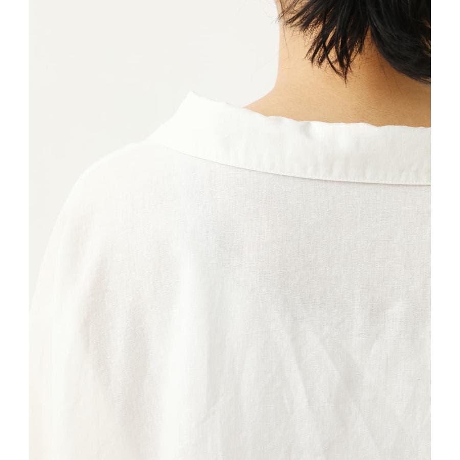 ロールアップリネンシャツ 6