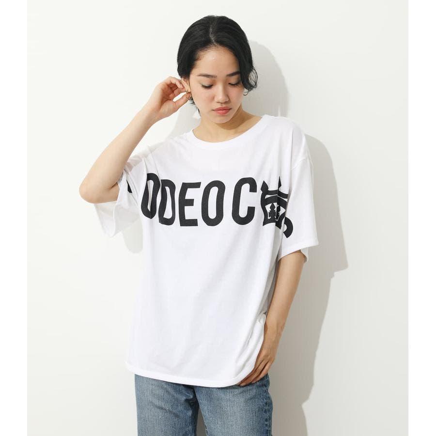 オーバーロゴTシャツ 1