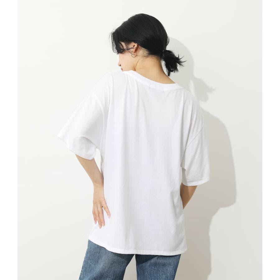 オーバーロゴTシャツ 3