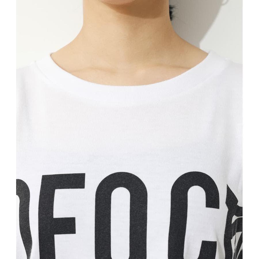 オーバーロゴTシャツ 4