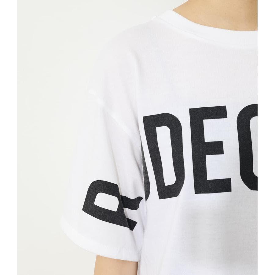 オーバーロゴTシャツ 5