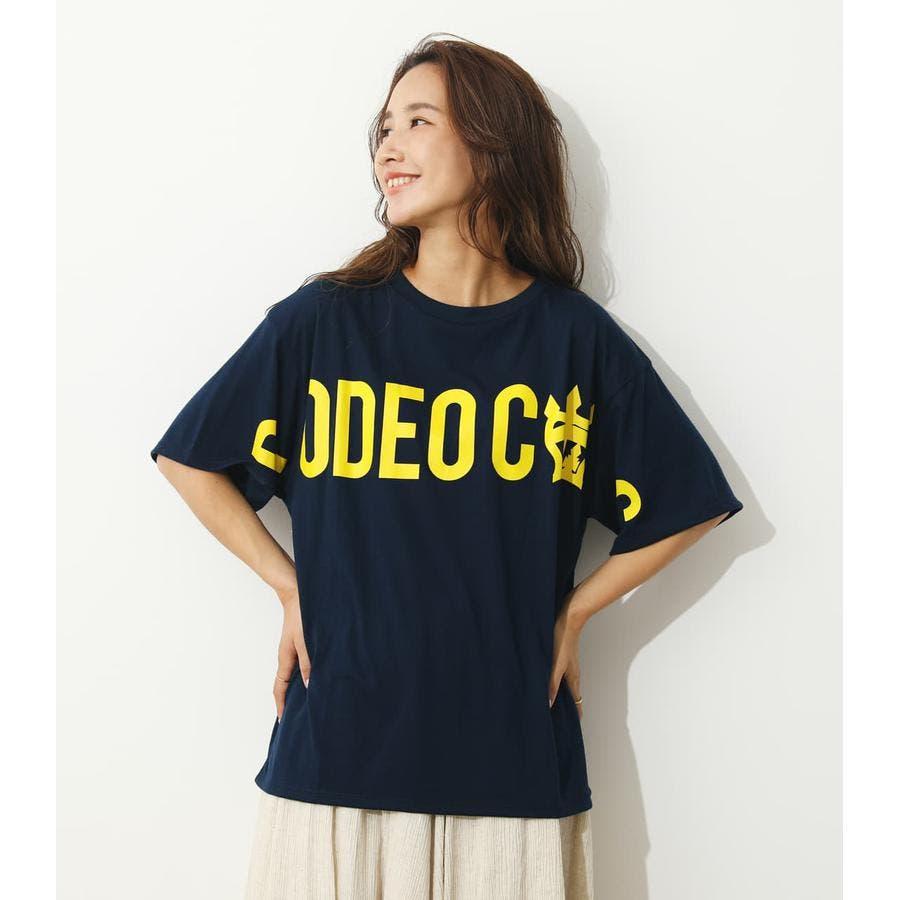 オーバーロゴTシャツ 64