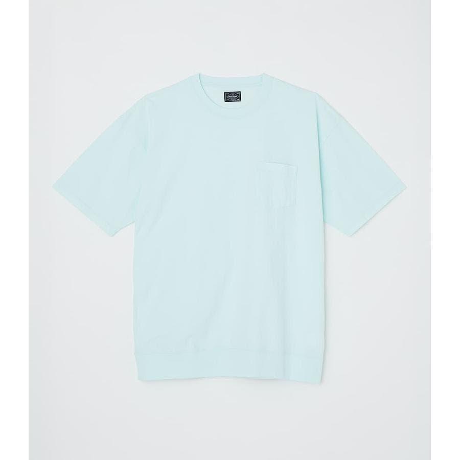 リブロゴポケットTシャツ 50