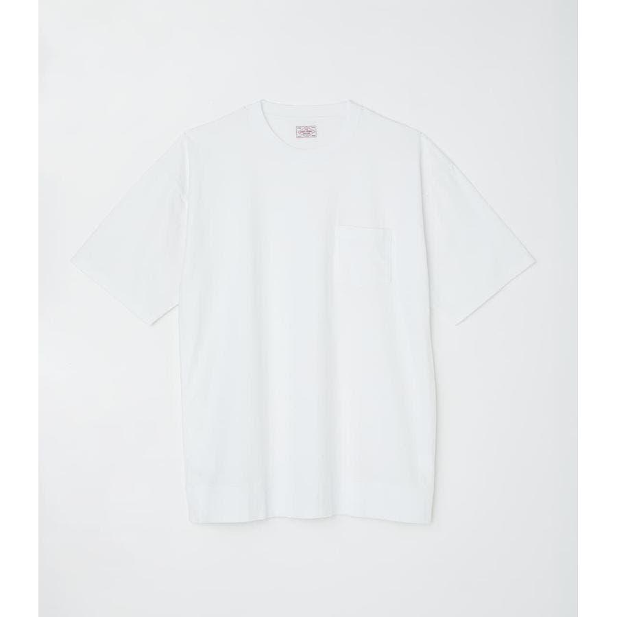 リブロゴポケットTシャツ 1