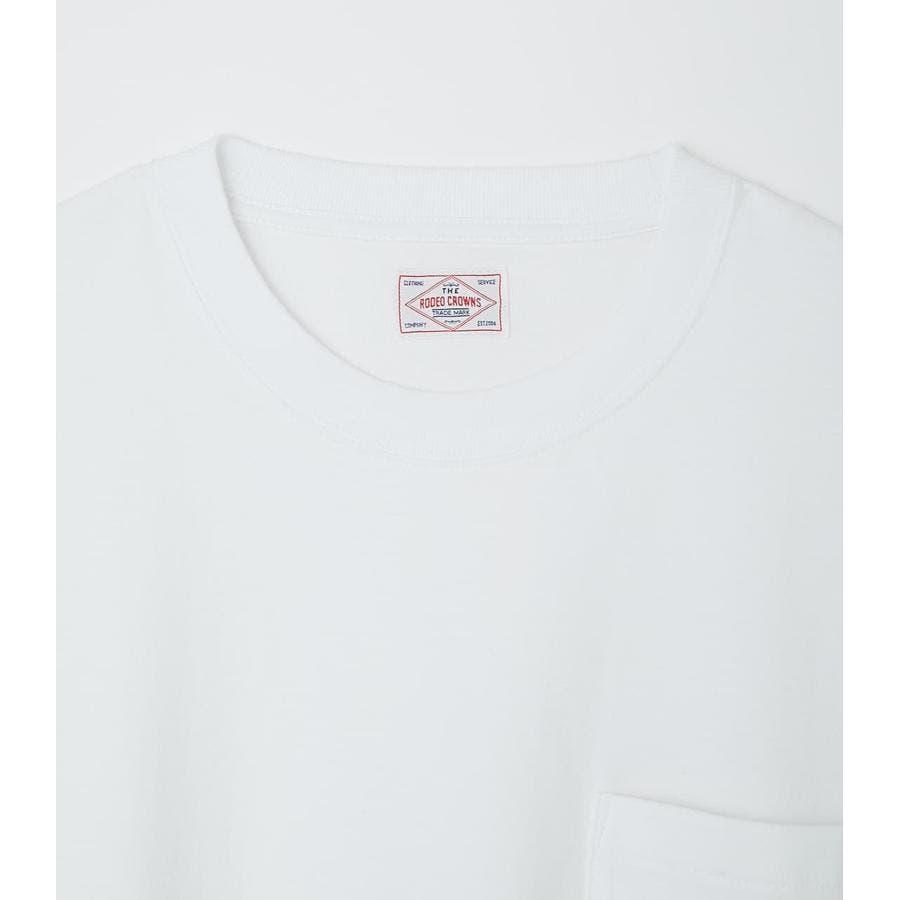 リブロゴポケットTシャツ 3