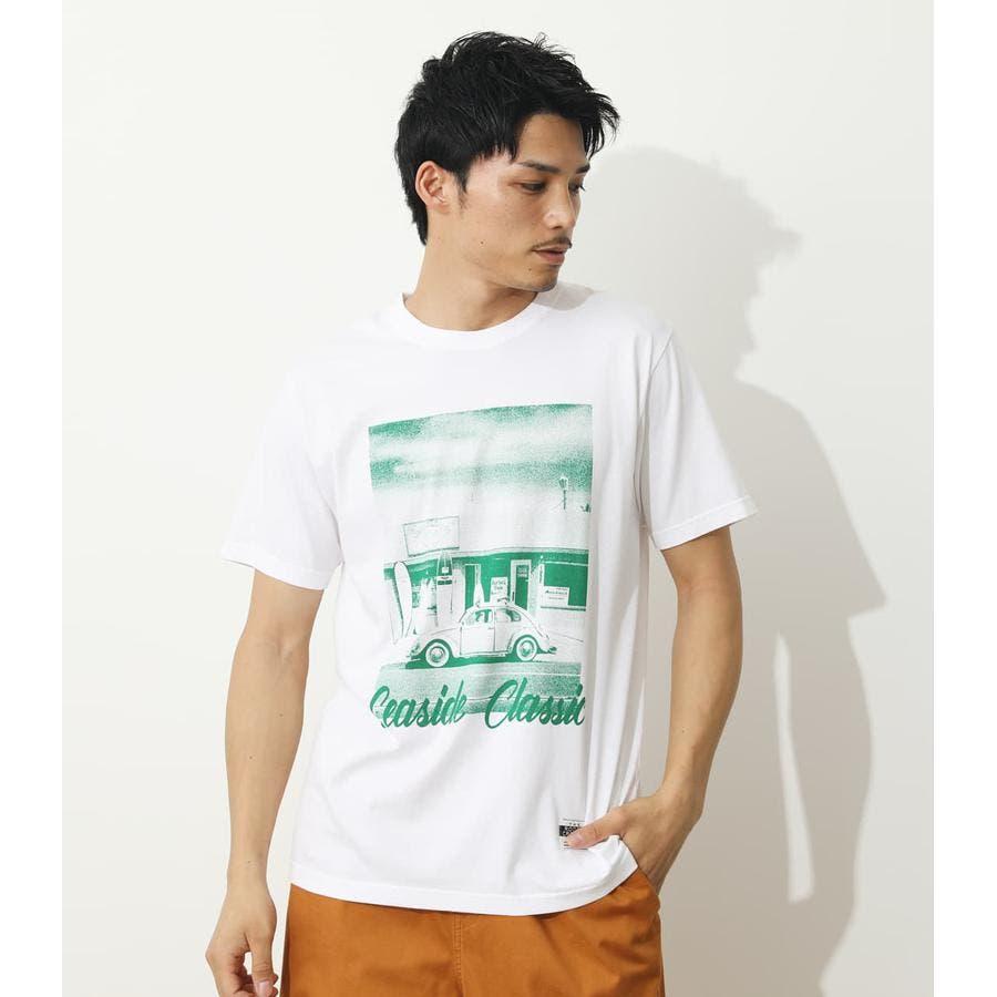 SEA SIDE PHOTO Tシャツ 1