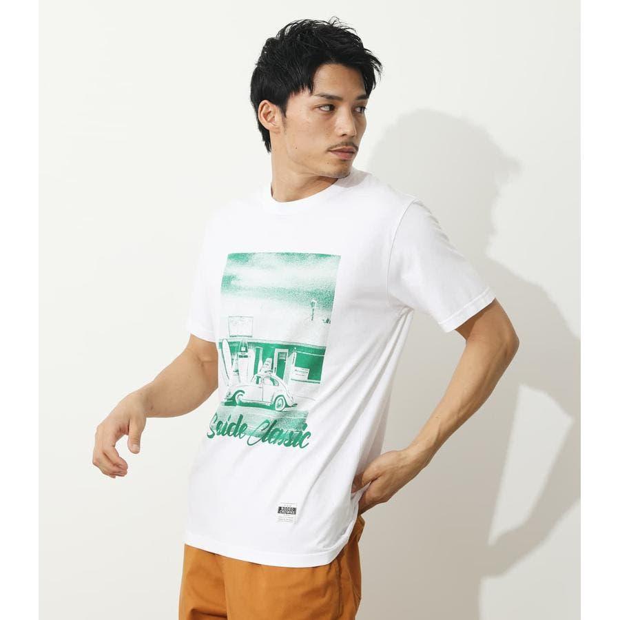 SEA SIDE PHOTO Tシャツ 2