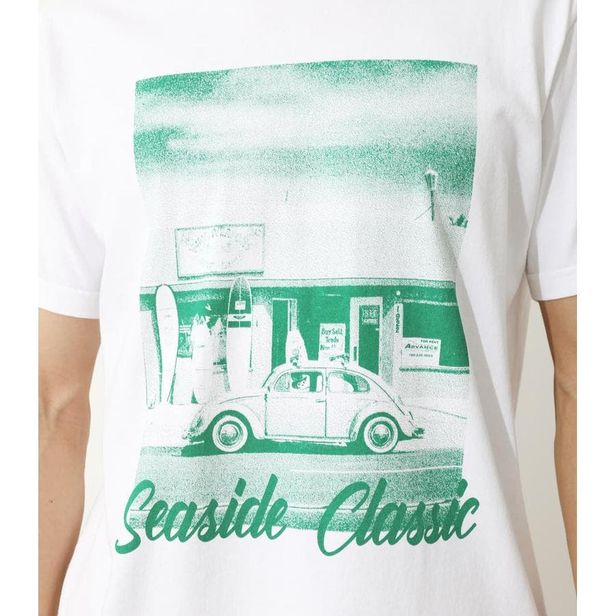 SEA SIDE PHOTO Tシャツ 6
