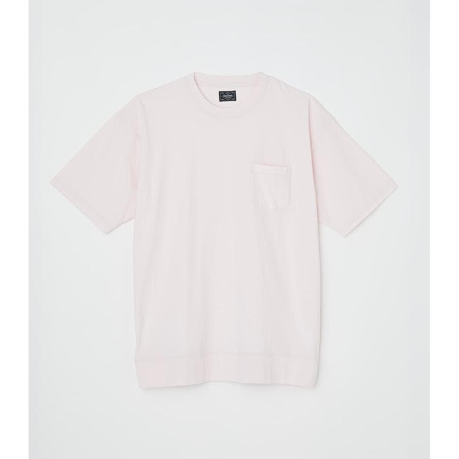 リブロゴポケットTシャツ 87