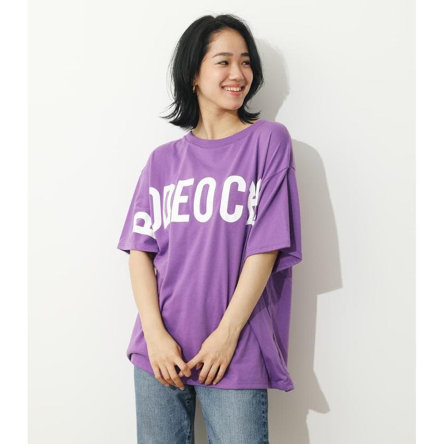オーバーロゴTシャツ 77