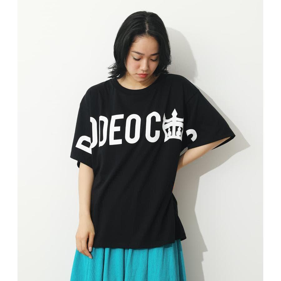 オーバーロゴTシャツ 21