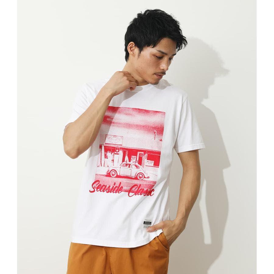 SEA SIDE PHOTO Tシャツ 94