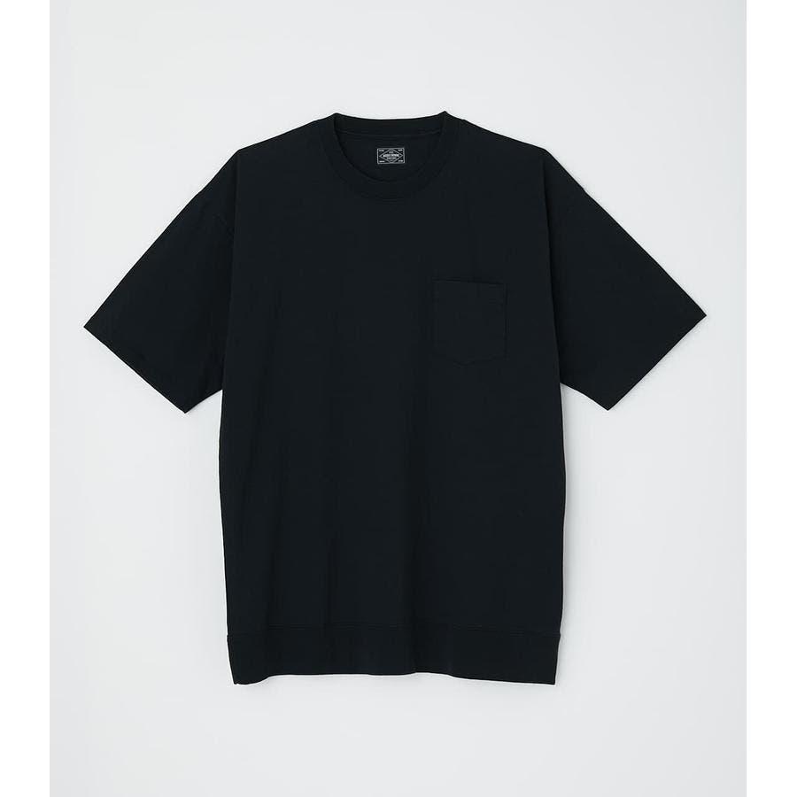 リブロゴポケットTシャツ 21