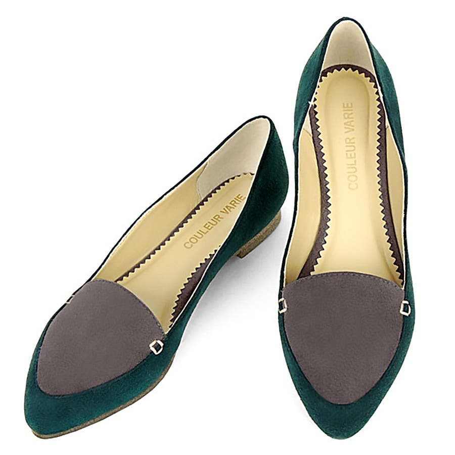 オトナなあなたにぴったり No.460252 クロールバリエ バイカラー ポインテッドトゥ パンプス レディース 女性用 パンプス シューズ 靴 可愛いかわいい おしゃれ 婦人靴 通販 激増