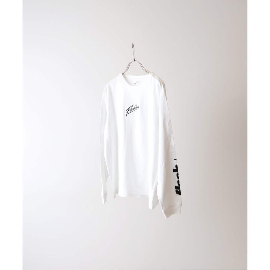 B.C STOCK ベーセーストック フラッシュダンス ロングスリーブTシャツ typeB 2