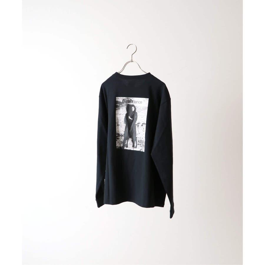 B.C STOCK ベーセーストック フラッシュダンス ロングスリーブTシャツ typeB 1