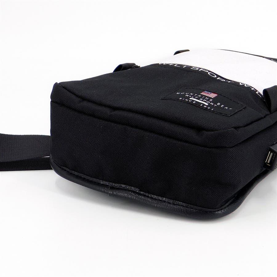 ショルダーバッグ メンズ 斜めかけ USBポート付き ボディーバッグ 肩掛け 大容量 無地 シンプル かっこいい アウトドア収納お出かけ 5