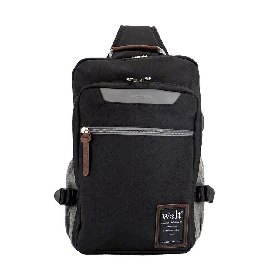 ショルダーバッグ メンズ 斜めかけ USBポート付き ボディーバッグ 肩掛け 大容量 無地 シンプル かっこいい アウトドア収納お出かけ 21