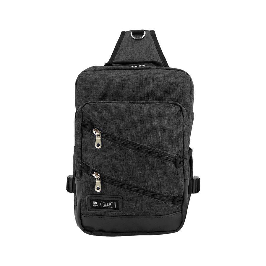 ボディーバッグ 男女兼用 メンズ 斜めかけ USBポート付き ボディーバッグ 肩掛け 大容量 無地 シンプル かっこいいアウトドア収納 お出かけ 21