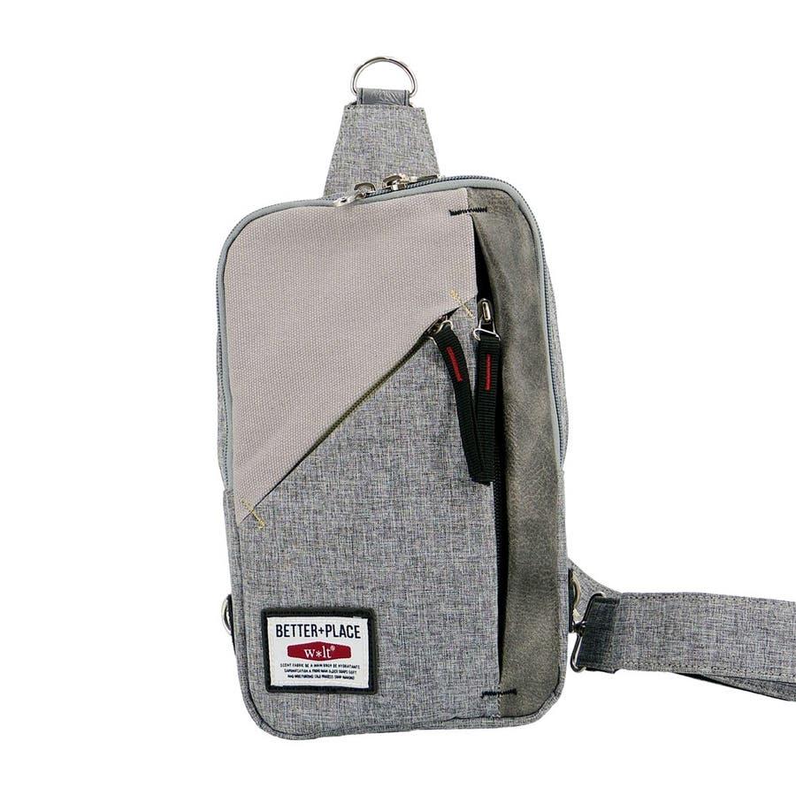 ボディバッグ メンズ ワンショルダーバッグ 斜め掛け バッグ 通学 鞄 かばん 28