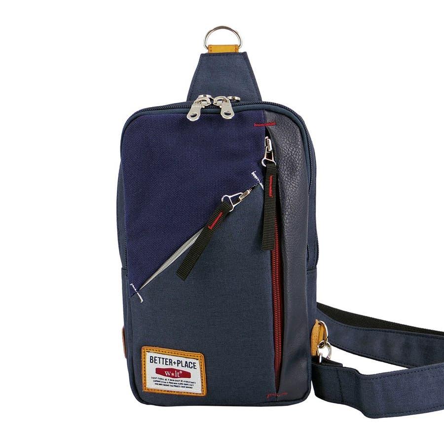 ボディバッグ メンズ ワンショルダーバッグ 斜め掛け バッグ 通学 鞄 かばん 64