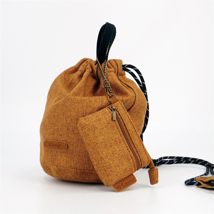 巾着 レディース 小さめバッグ ミニショルダーバッグ 斜めがけ ポーチ 本革 きんちゃく袋 シンプル おしゃれ 大人かわいい大人可愛いシンプル 2