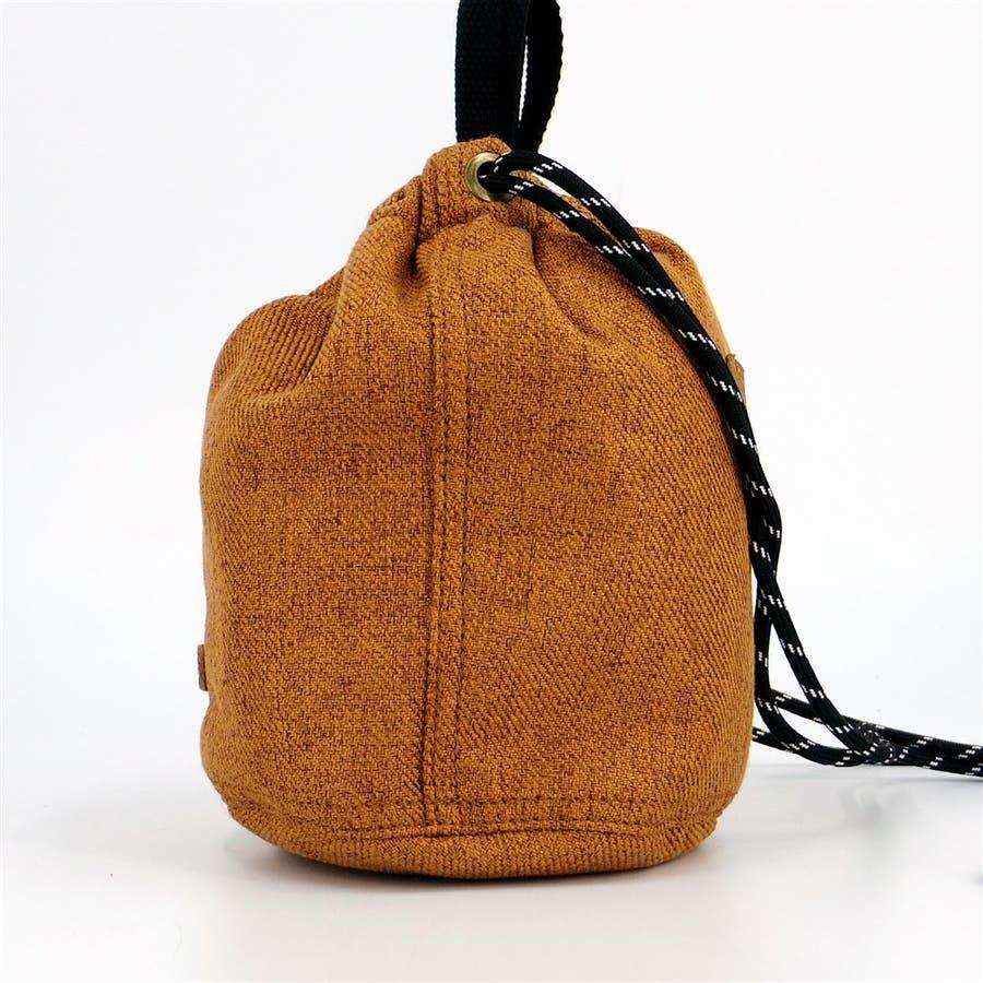 巾着 レディース 小さめバッグ ミニショルダーバッグ 斜めがけ ポーチ 本革 きんちゃく袋 シンプル おしゃれ 大人かわいい大人可愛いシンプル 3