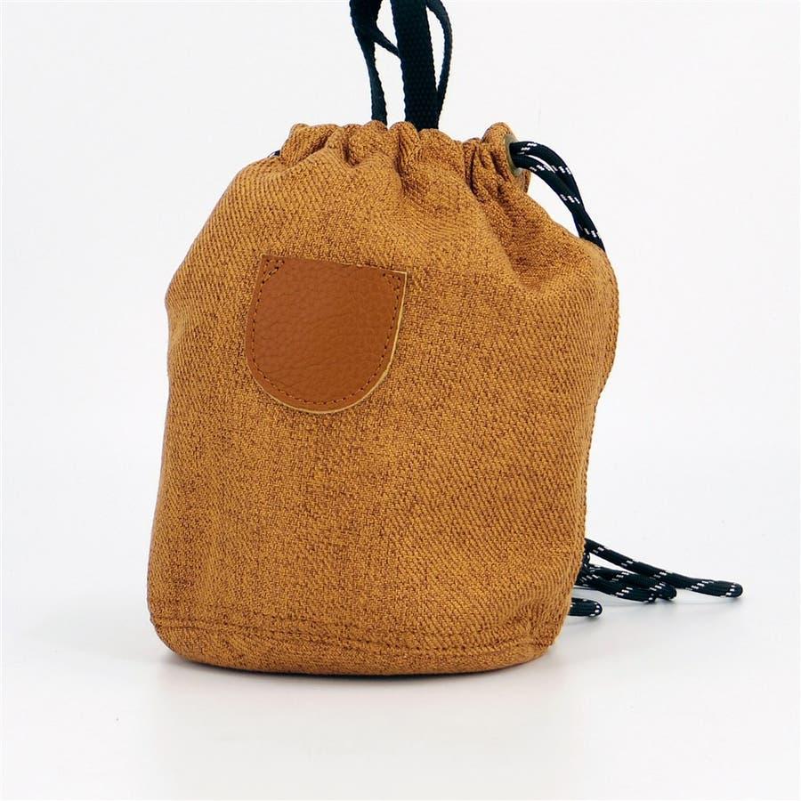 巾着 レディース 小さめバッグ ミニショルダーバッグ 斜めがけ ポーチ 本革 きんちゃく袋 シンプル おしゃれ 大人かわいい大人可愛いシンプル 4