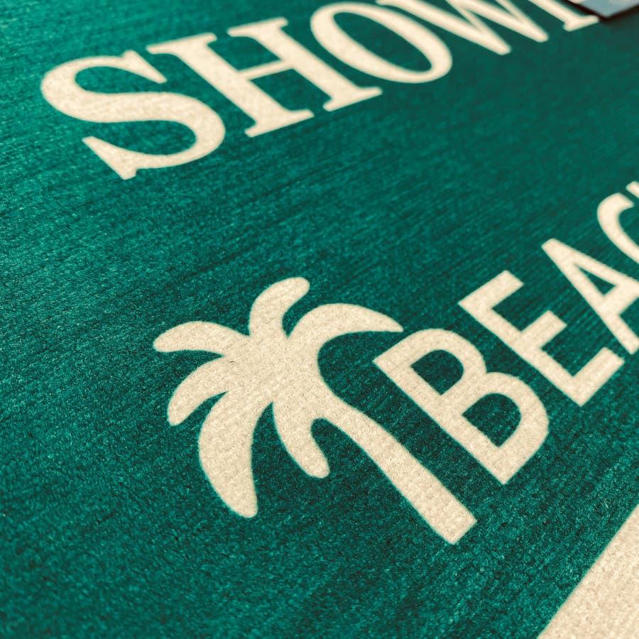 玄関マット BEACH ビーチ ラグ 4