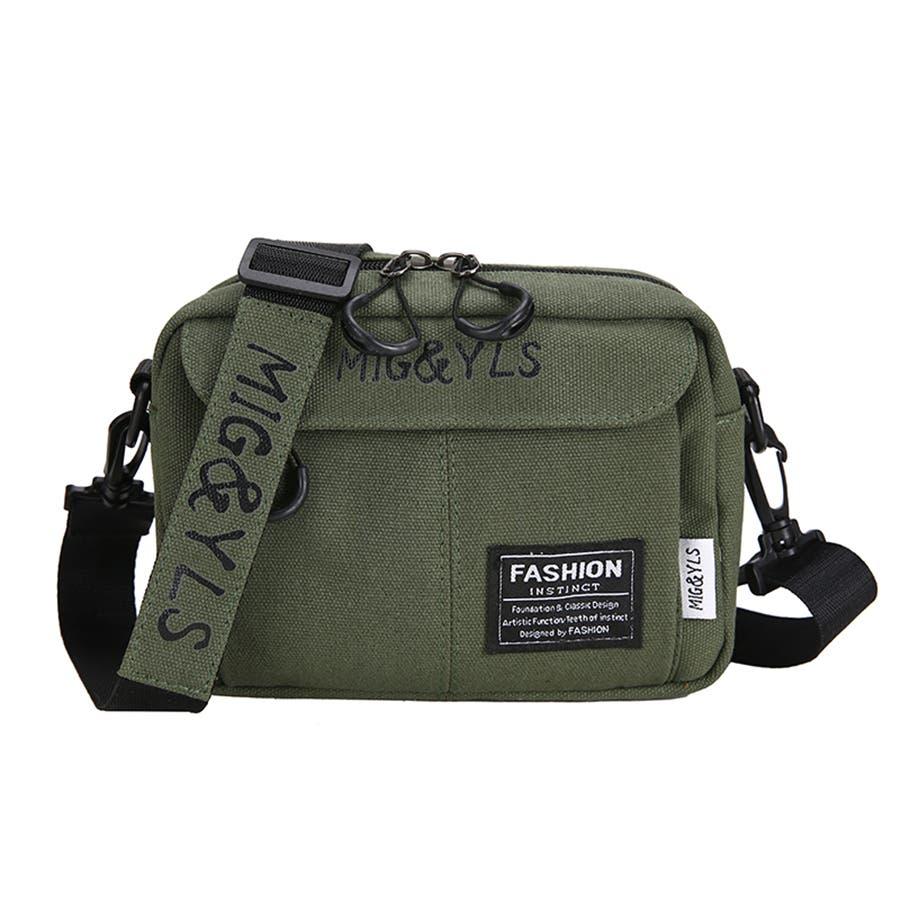 レディースファッション通販キャンバスバッグ レディース ショルダーバッグ 軽量 多収納 斜めがけバッグ 多機能 47