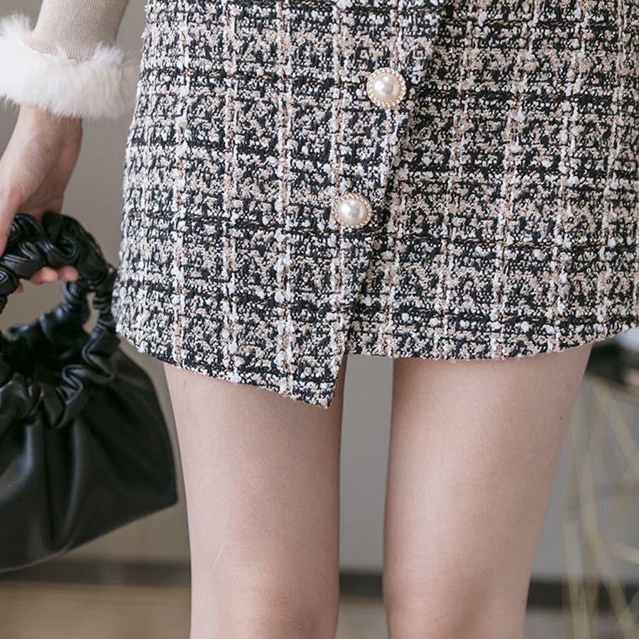 レディースファッション通販ミニスカート 台形 スカート 4