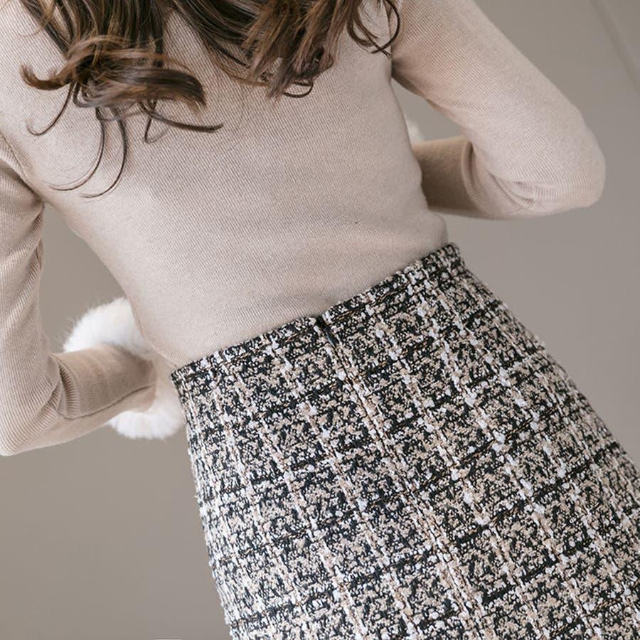 レディースファッション通販ミニスカート 台形 スカート 5