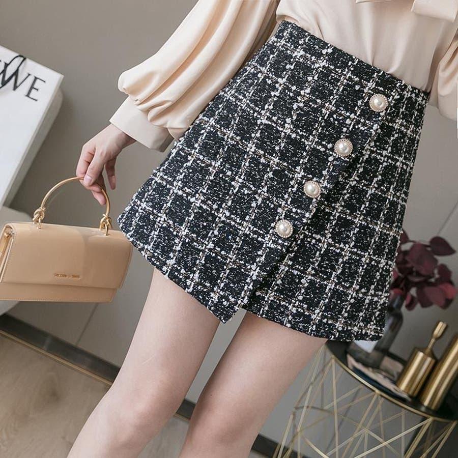 レディースファッション通販ミニスカート 台形 スカート 21