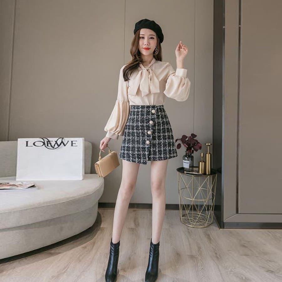 レディースファッション通販ミニスカート 台形 スカート 7