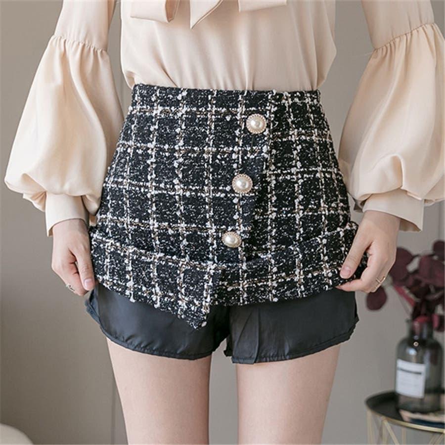 レディースファッション通販ミニスカート 台形 スカート 8