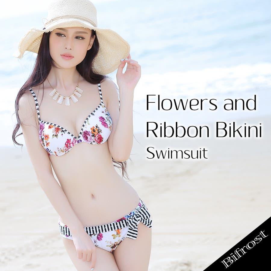 【Bifrost】水着セット2018年新商品/ビキニ/海/ビーチサンダル/夏 1