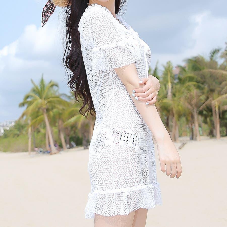 【Bifrost】水着セット2018年新商品/ビキニ/海/ビーチサンダル/夏 4