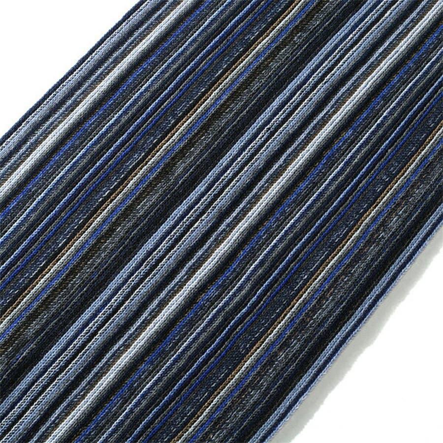 【大きいサイズ】【メンズ】AZ DEUX ストライプ柄ロングマフラー azsc-180603 9