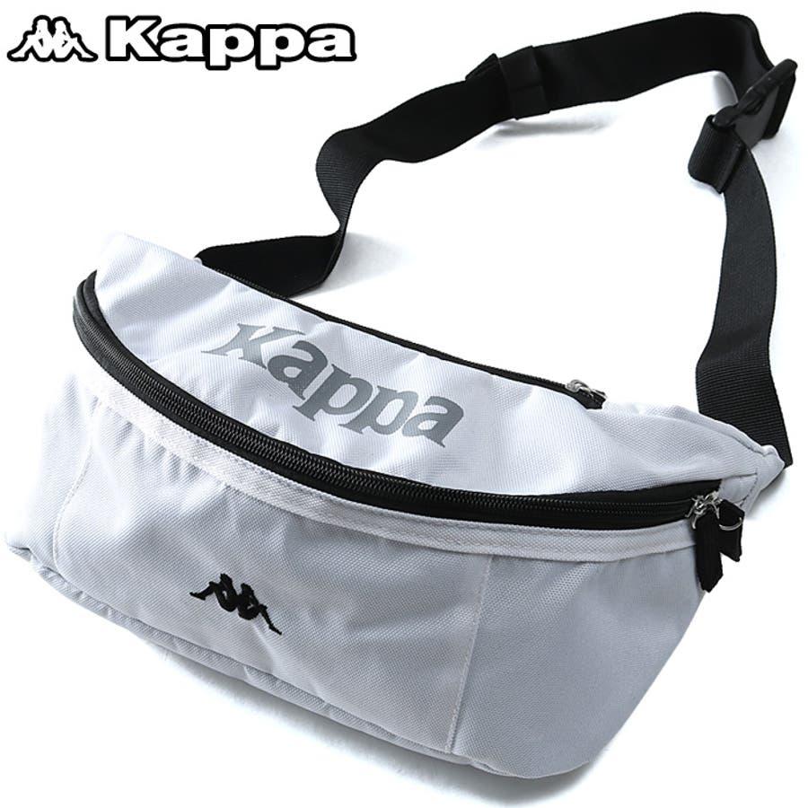 大きいサイズ メンズ Kappa カッパ ウエスト ポーチ kpz-953z 1