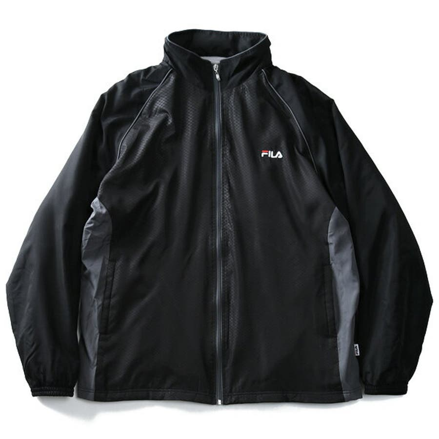 0c242ac2cbf 大きいサイズ】【メンズ】FILA(フィラ) 裏フリースウインドジャケット ...