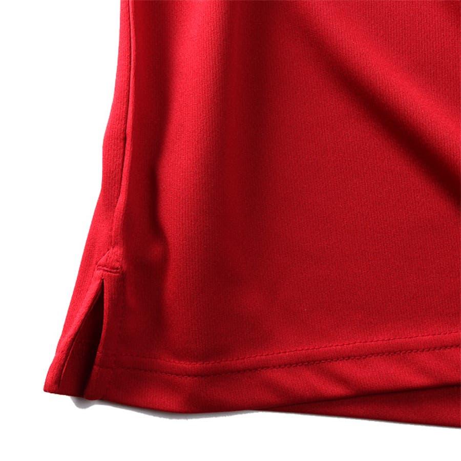 大きいサイズ メンズ EVERLAST 吸水速乾 バックプリント 半袖 ポロシャツ elc02108b 9