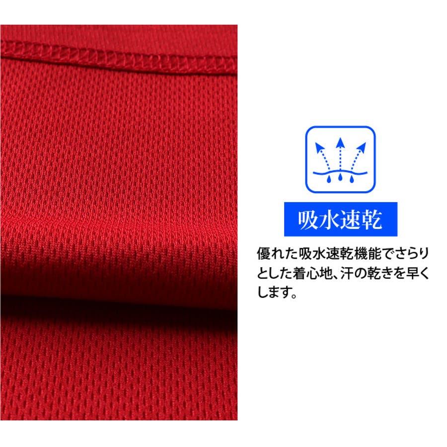 大きいサイズ メンズ EVERLAST 吸水速乾 バックプリント 半袖 ポロシャツ elc02108b 4