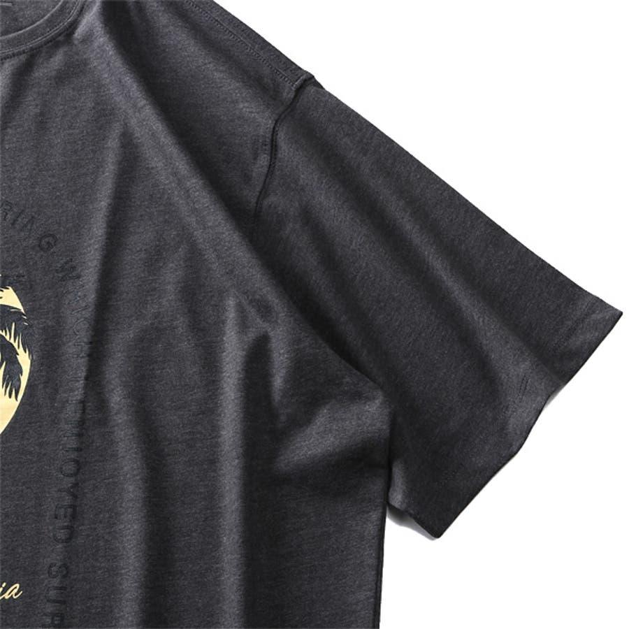 大きいサイズ メンズ DANIEL DODD オーガニック プリント 半袖 Tシャツ HUNTINGTON BEACHazt-200263 9