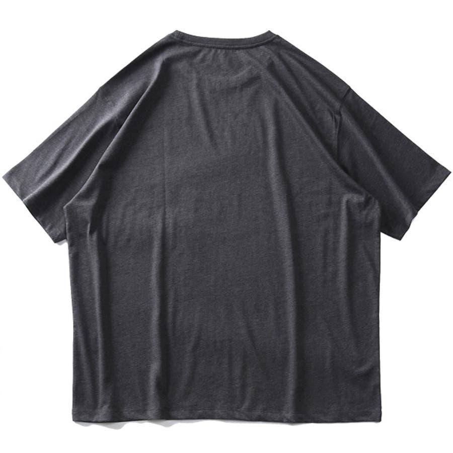 大きいサイズ メンズ DANIEL DODD オーガニック プリント 半袖 Tシャツ HUNTINGTON BEACHazt-200263 10