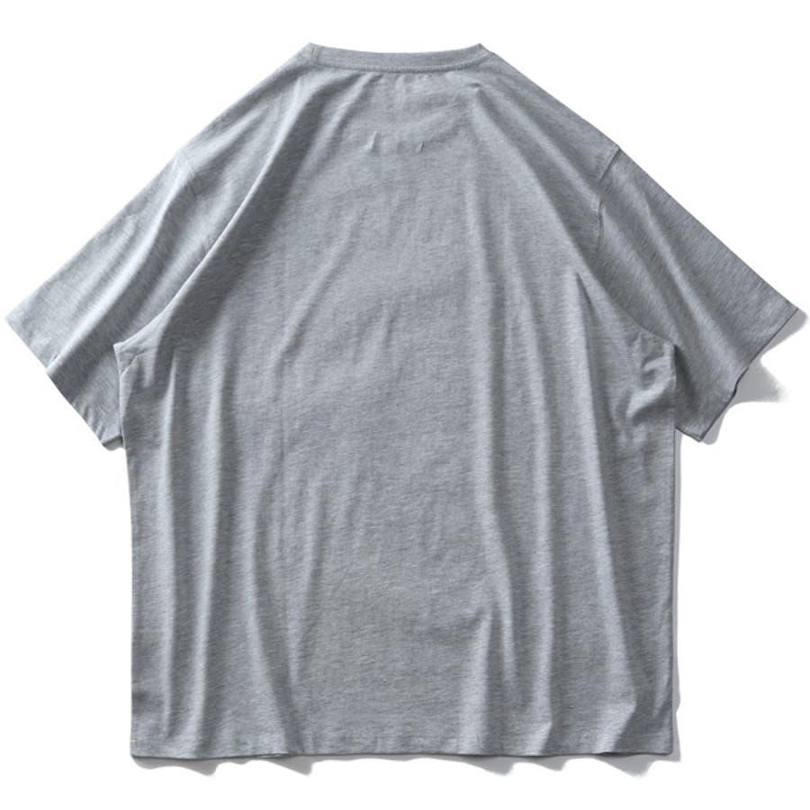 大きいサイズ メンズ DANIEL DODD オーガニック プリント 半袖 Tシャツ Vintage Customazt-200267 10