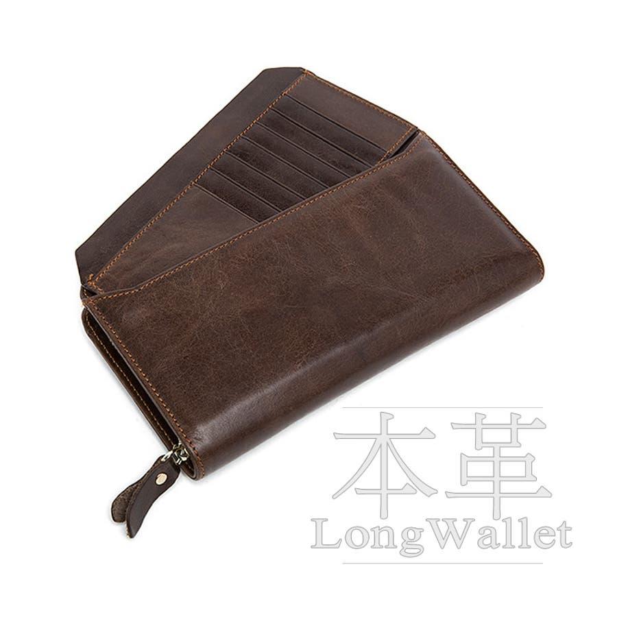 b0efd291f245 本革 長財布 セパレート カードケース ラウンドファスナー 財布 小銭入れ セカンドバッグ 持ち手付き