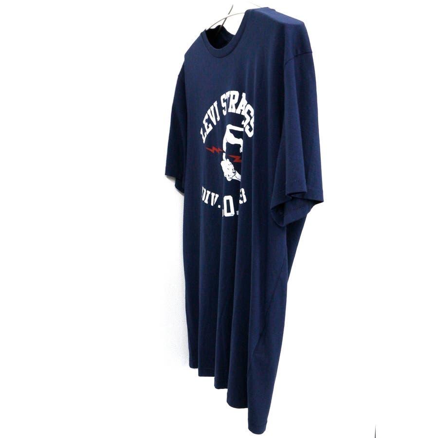 リーバイス メンズ Tシャツ LEVIS 22491 グラフィック セットイン ネック 半袖 プリント 大きいサイズ小さいサイズ 春夏 3