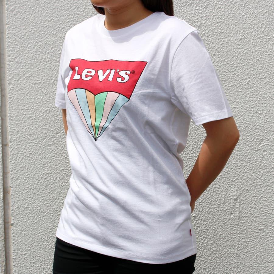リーバイス メンズ Tシャツ LEVIS 22489 ハウスマーク グラフィック TEE 半袖 プリント 大きいサイズ 小さいサイズ春 夏 | かっこいい おしゃれ 涼しい levi's LEVI'S levis シンプル 男性 ブランド アメカジ カジュアルストリート 個性派 3